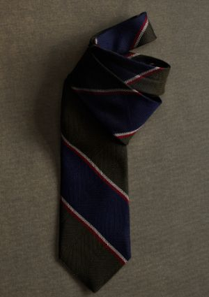 Gatsby clothing for men - Brooks Brothers - menswear from the 1920s  tie MA01281_GREY-NAVY_G.jpg
